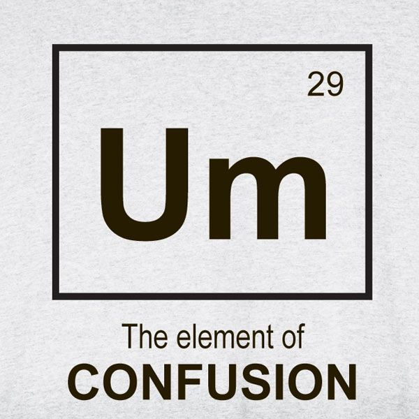 [Image: element-of-confusion-tee.jpg]